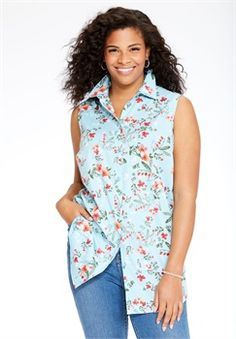Sleeveless Perfect shirt