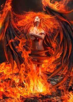 Image IMG 8839 in Fantasy album Fantasy Kunst, Dark Fantasy Art, Fantasy Artwork, Fantasy Women, Fantasy Girl, Guerrero Dragon, Ange Demon, Phoenix Bird, Fire Art