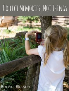 Collect memories, not things: Best idea ever for avoiding the constant plea for toys from the gift shop during outings!  Fontenelle Forest asks you to leave everything you find where you found it. Take photographs, not things!