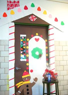 for the classroom Christmas door ideas | Classroom Door Decorating idea | Christmas Creativity
