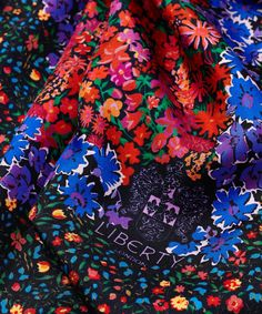 "Liberty London, Floral Medley Silk Neckerchief - ""A harmony of joyous florals."" James Millar, Head of Design  Shop the scarves collection: http://www.liberty.co.uk/fcp/categorylist/dept/liberty-london_scarves"