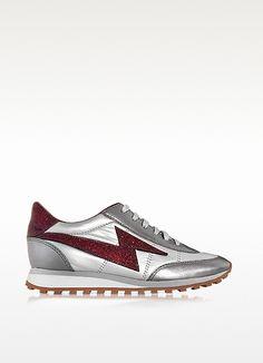 MARC JACOBS - Lightning Bordeaux Bolt Jogger Astro Sneaker