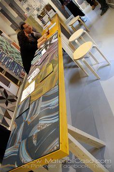 Ceramic tiles by @unicabytarget at #Tortona. #MDW2016 #MCaroundSaloni #MilanDesignWeek