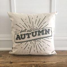 Fall into Autumn Pillow Cover