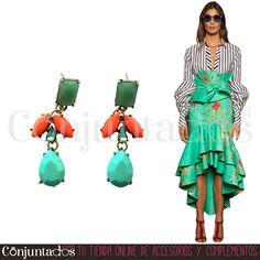Los pendientes Patty son todo lo que necesitas para poner la guinda a tu look: elegantes, atemporales y fácilmente conjuntables ★ 13,95 € en https://www.conjuntados.com/es/pendientes-patty-con-piedra-verde-jade.html ★ #novedades #pendientes #earrings #conjuntados #conjuntada #joyitas #lowcost #jewelry #bisutería #bijoux #accesorios #complementos #moda #eventos #bodas #invitadaperfecta #fashion #fashionadicct #picoftheday #outfit #estilo #style #GustosParaTodas #ParaTodosLosGustos