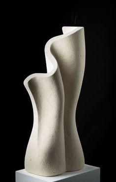 abstract sculpture Association of Sculptors of Victoria Stone Sculpture, Sculpture Clay, Abstract Sculpture, Abstract Art, Geometric Sculpture, Ceramic Pottery, Ceramic Art, Contemporary Sculpture, Clay Art