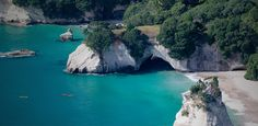 Cathedral cove on the coromandel