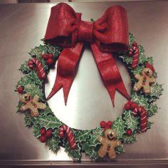 Christmas Dough Wreath
