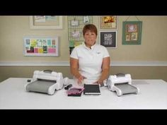 From the Sizzix Art Room: How to Use Your Precision Base Plate - YouTube