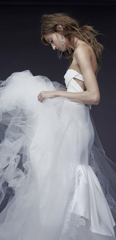 The Petra Gown | Vera Wang Fall 2015 Bridal Collection