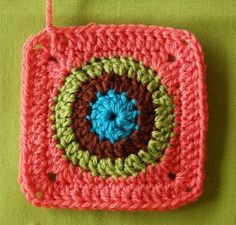 Tutorial for Circl-y Granny Square