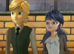 Credit on pic I love this version like its Felix and Marinette #marinette…