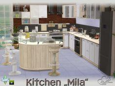 Mila kitchen by BuffSumm at TSR • Sims 4 Updates