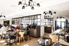 """Det kendte Hotel Kong Arthur ved søerne i København har i dag åbnet verdens første morgenmads-restaurant, der bygger på moderne og super-trendy begreber som """"nudging"""" og """"neuro"""". Copenhagen Hotel, Conference Room, Hotels, Restaurant, Furniture, Design, Home Decor, Modern, Decoration Home"""