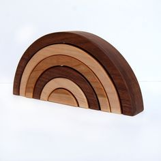 Wooden Toy Rainbow