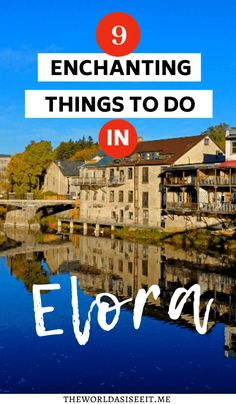 9 Enchanting Things to do in Elora Ontario – Plus Top Elora Instagram Spots You Don't Want to Miss ⋆ I things to do in Ontario I Ontario Canada I Elora Ontario I what to do in Elora I Elora Gorge I hiking Elora I where to eat in Elora I where to stay in Elora I small towns in Ontario I #Elora #Ontariotravel #Canada #smalltowntravel Europe Destinations, Travel Guides, Travel Tips, Travel Packing, Usa Travel, Travel Advice, Cool Places To Visit, Places To Travel, Quebec