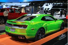 Hot Wheels Camaro Concept at the L.A. Auto Show in 2011
