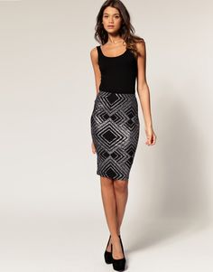 pencil skirt outfits 11 -  #outfit #style #fashion