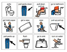Toilet Training Children with Down Syndrome. This is an article on the National Down Syndrome Society's website.