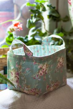 sewing fabric baskets