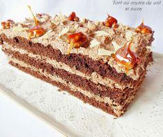 Rocsy in bucatarie: Tort cu crema de unt si nuca