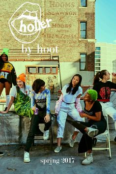 The second mini magazine from Hoot Magazine, featuring clothing by Brujas NYC and Venomiss. Made entirely by Columbia University undergraduate students in New York City.