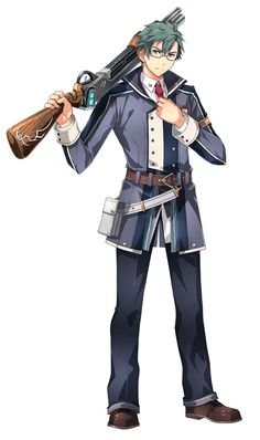 View an image titled 'Machias Regnitz Art' in our The Legend of Heroes: Trails of Cold Steel III art gallery featuring official character designs, concept art, and promo pictures. Game Character Design, Character Art, Character Ideas, Cute Anime Boy, Anime Guys, Trails Of Cold Steel, Xenoblade Chronicles 2, The Legend Of Heroes, Marvel Jokes