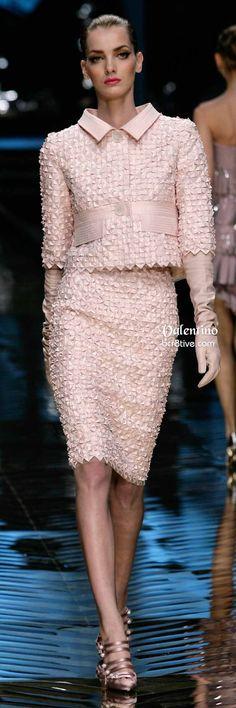 Giacca Valentino corto rosa crea e Pencil Skirt