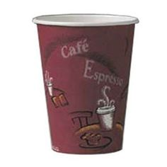 Solo 378SI-0041 8 oz. Bistro Paper Hot Cup 50 / Pack by Solo. $3.29. Cafe inspired design. Durable single-poly construction. Solo 378SI-0041 8 oz. Bistro Paper Hot Cup 50 / Pack