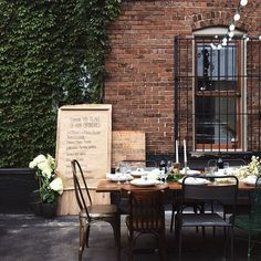 aw, I'll miss outdoor dinners when Fall arrives.