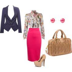 """business wear"" by que-alexandria-whitman on Polyvore: ihanat värit"