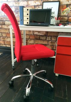 Antrim Mesh Task Chair Red My Workspace, Neat And Tidy, Stationery, Office Supplies, Mesh, Chair, Hot, Furniture, Home Decor