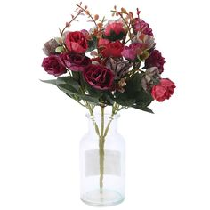Cheap flower Buy Quality flower girl dress price directly from China flower fake Suppliers: 1 Bouquet 21 Head Artificial Rose Colorful Silk Flower Capable Fake Flowers For Beauty Home Party Wedding Decor Cheap Flowers, Fake Flowers, Artificial Flowers, Dried Flowers, Silk Roses, Silk Flowers, House Party, Glass Vase, Wedding Decorations