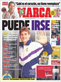 Los Titulares y Portadas de Noticias Destacadas Españolas del 18 de Octubre de 2013 del Diario Marca ¿Que le pareció esta Portada de este Diario Español?