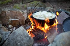 Drummond Stew by Aaron Jones Camping Hacks, Country Life, Stew, Outdoors, Canning, Outdoor Decor, Fish, Board, Character