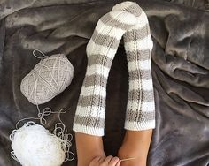 This crochet cable sock pattern makes 11 different sizes ranging from baby all the way through to Men's/Women's adult sizes. They are thick, stylish, and sure to keep everyone's feet feeling warm this Winter! The socks are worked from the toe up (and the heel is even worked up as you go). With a classic cable design that's beginner friendly and an HD video tutorial you can't go wrong!