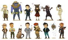 Fallout Chibis Extravaganza by Momodeary on DeviantArt Fallout 4 New Vegas, Fallout Fan Art, Fallout Game, Fallout Comics, Tv Show Games, Mecha Anime, Fandom, Post Apocalyptic, Skyrim