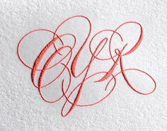 ✍ Sensual Calligraphy Scripts ✍ initials, typography styles and calligraphic art - dana cochran Copperplate Calligraphy, Calligraphy Letters, Typography Letters, Typography Design, Calligraphy Handwriting, Penmanship, Word Fonts, Wedding Letters, Pink Punch