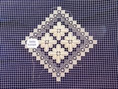 Mesh Netting, Filets, Lace, Embroidery