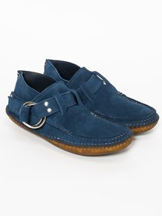 RING BOOT - SHARKS FIN STEAD SUEDE
