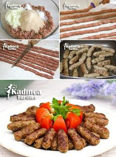 İnegöl Köfte Tarifi, Nasıl Yapılır – Et Yemekleri – Las recetas más prácticas y fáciles Meatball Recipes, Meat Recipes, Snack Recipes, Cooking Recipes, Snacks, Good Food, Yummy Food, Albondigas, Arabic Food