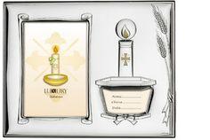 """Srebrna ramka na zdjęcia """"Pamiątka Chrztu"""", stanowi idealny prezent dla dziecka. #chrzciny #dla_dziecka"""
