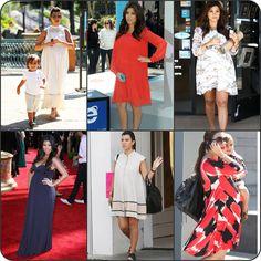 Kourtney Kardashian Maternity Style - shegoeswear.blogspot.com
