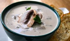 Cashew Cream of Mushroom Soup.