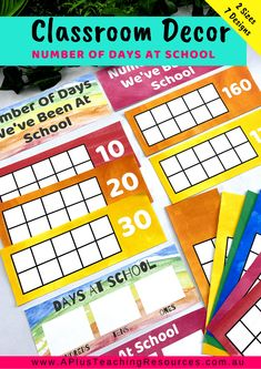 This Watercolour Rainbow Classroom Decor Kit has everything you need to get your classroom looking bright, welcoming and inviting and educational. Teacher Freebies, Classroom Freebies, Classroom Supplies, School Classroom, Classroom Themes, Classroom Activities, Teaching Plan, Teaching Math, Teaching Resources