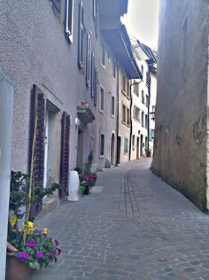 Old Town Olten Old Town, Buildings, Beautiful Places, Spaces, City, Switzerland, Old City, Cities