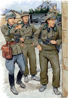 WEHRMACHT - Carristi di uno StuG, Francia 1940
