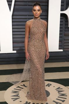 Hailee Steinfeld In Ralph & Russo - At the Vanity Fair Oscar Party