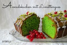 Satt und Selig: Ich back's mir - Avocadokuchen mit Limettenguss