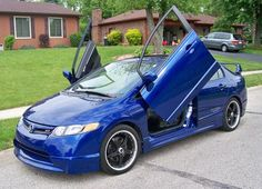 My 2007 Honda Civic Si Turbo~ Gorgeous, right?